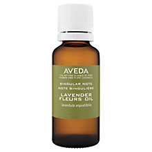 Buy AVEDA Singular Notes Lavender Fleurs Oil, 30ml Online at johnlewis.com