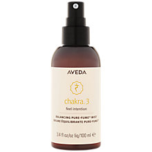 Buy AVEDA Chakra™ 3 Balancing Mist, 100ml Online at johnlewis.com