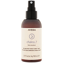Buy AVEDA Chakra™ 7 Balancing Mist, 100ml Online at johnlewis.com