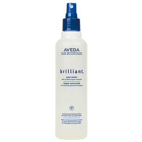 Buy AVEDA Brilliant™ Hair Spray Online at johnlewis.com