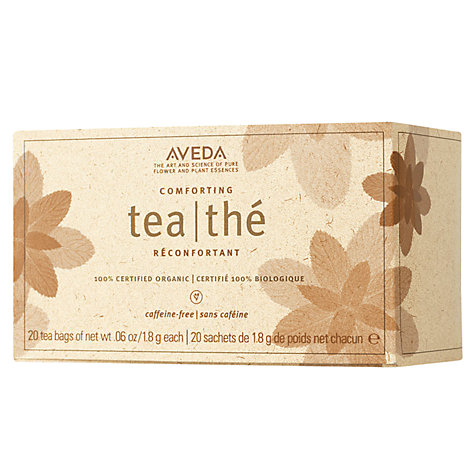 Buy AVEDA 100% Certified Organic Comforting Tea Bags, x 20 Online at johnlewis.com