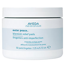 Buy AVEDA Outer Peace™ Blemish Relief Pads, 50 pads Online at johnlewis.com