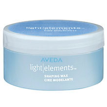 Buy AVEDA Light Elements™ Shaping Wax, 75ml Online at johnlewis.com