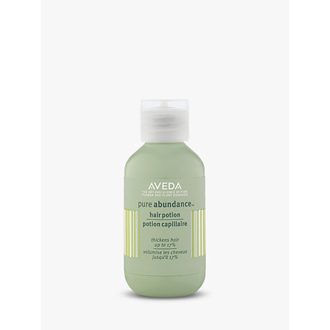 Buy AVEDA Pure Abundance™ Hair Potion, 20g Online at johnlewis.com