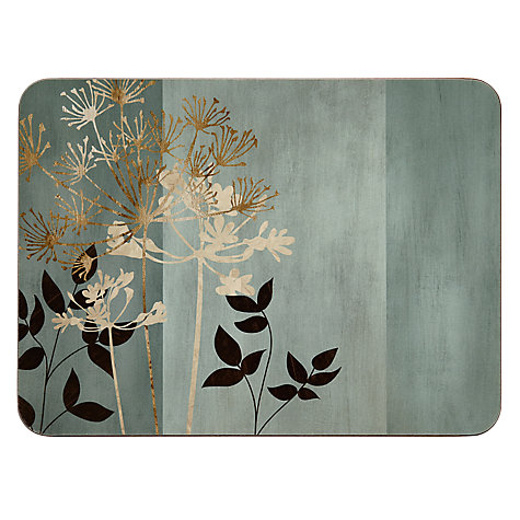 Buy Jason Allium Placemats, Set of 6, Multi Online at johnlewis.com