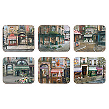 Buy Jason Village Square Coasters, Set of 6 Online at johnlewis.com