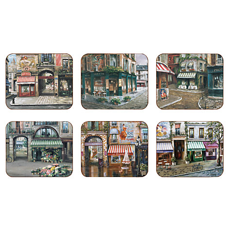 Buy Jason Products Village Square Coasters, Set of 6 Online at johnlewis.com