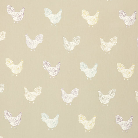 Buy Chicken Licken PVC Tablecloth Fabric, Pastel Online at johnlewis.com