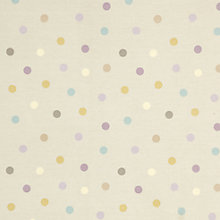 Buy Tilly PVC Tablecloth Fabric, Pastel Online at johnlewis.com
