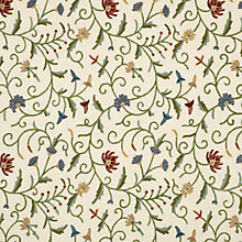 Buy John Lewis Kanpur Embroidered Fabric, Multi Online at johnlewis.com