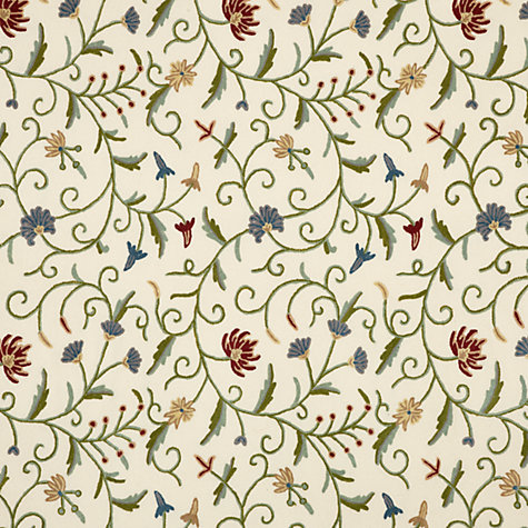 Buy Kanpur Embroidered Fabric, Multi Online at johnlewis.com