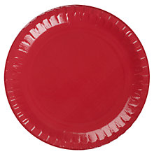 Buy John Lewis Paper Plates, Pack of 8, Cream Online at johnlewis.com