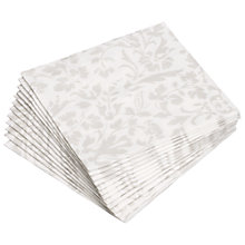 Buy John Lewis Palace FSC Napkins, Pack of 12 Online at johnlewis.com