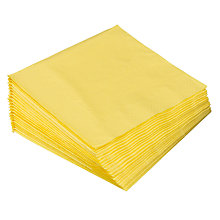 Buy John Lewis 3 ply Napkins, Pack of 20, Jade Online at johnlewis.com