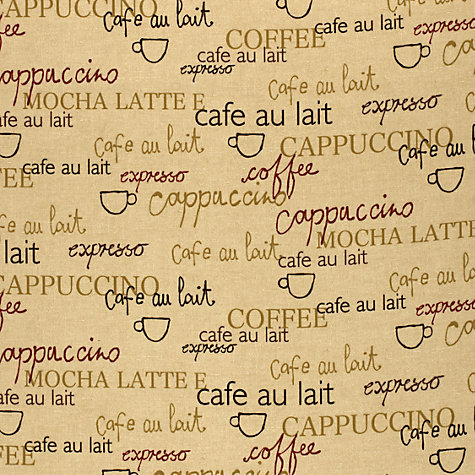 Buy Cappuccino Gloss PVC Tablecloth Fabric, Spice Online at johnlewis.com