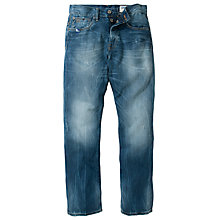 Buy G-Star Raw 3301 Straight Fit Rugby Wash Jeans Online at johnlewis.com