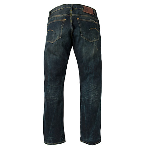 Buy G-Star Raw 3301 Straight Fit Jeans Online at johnlewis.com