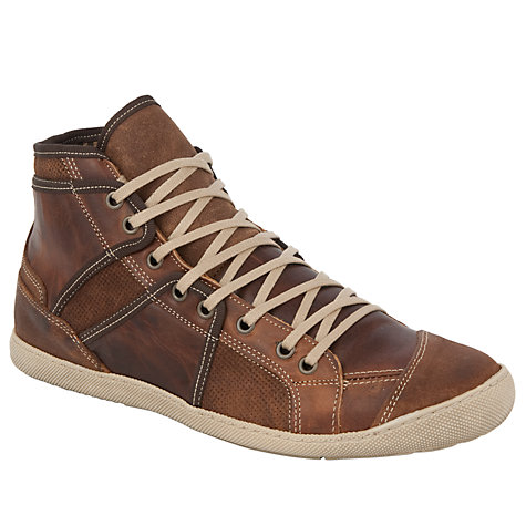 Buy Dune Shellshock Hi-Top Casual Trainers Online at johnlewis.com