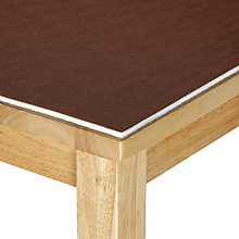 Buy John Lewis Table Guard Fabric, Nutmeg Online at johnlewis.com