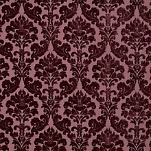 Buy Voyage Lucilla Fabric, Aubergine Online at johnlewis.com