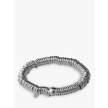 Buy Links of London Sweetie Core Sterling Silver Charm Bracelet, Silver Online at johnlewis.com