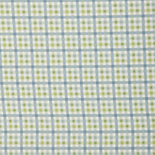 Buy John Lewis Vintage Check PVC Tablecloth Fabric, Green Online at johnlewis.com