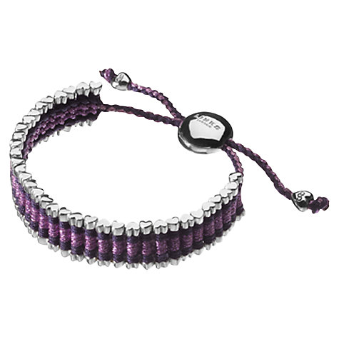 Buy Links of London Cat Deeley Rainbow Friendship Bracelet Online at johnlewis.com
