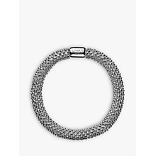 Buy Links of London Effervescence Sterling Silver Star Bracelet, Medium Online at johnlewis.com