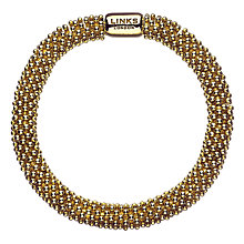 Buy Links of London Effervescence Star Yellow Gold Vermeil Bracelet Online at johnlewis.com