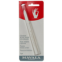 Buy MAVALA Nail-White Crayon Online at johnlewis.com