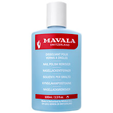 Buy MAVALA Nail Polish Remover, 100ml Online at johnlewis.com