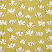 Buy John Lewis Gingko Fabric, Fennel Online at johnlewis.com