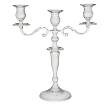 Buy Brissi Candelabra, Silver Plated, 3 Arm Online at johnlewis.com