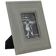 "Buy Brissi Greta Photo Frame, Grey, 5 x 7"" (13 x 18cm) Online at johnlewis.com"
