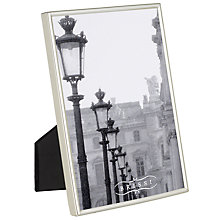Buy Brissi Mayfair Photo Frames, Silver Plated Online at johnlewis.com