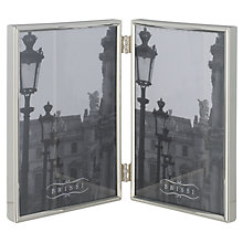 Buy Brissi Mayfair Double Photo Frame, Silver Plated Online at johnlewis.com