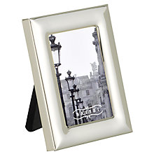 Buy Brissi Mignon Frame, Rectangular, Silver Plated Online at johnlewis.com