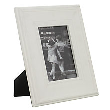 Buy Brissi Marilyn Photo Frame, White, 5 x 7'' (13 x 18cm) Online at johnlewis.com