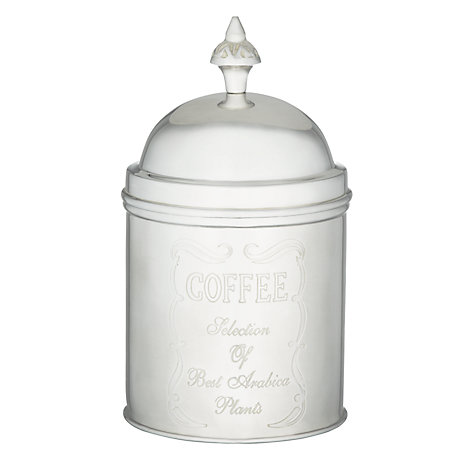 Buy Brissi Coffee Caddy, Silver Plated Online at johnlewis.com