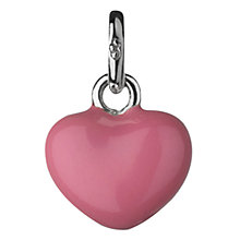 Buy Links of London Mini Pink Heart Charm Online at johnlewis.com
