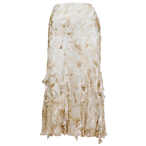 Buy Chesca Daisy Devoree Appliqué Maxi Skirt Online at johnlewis.com
