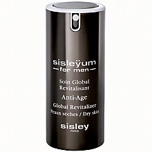 Buy Sisley Sisleÿum For Men Anti-Age Global Revitalizer for Dry Skin, 50ml Online at johnlewis.com