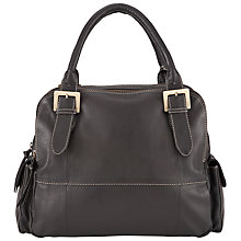 Buy John Lewis Triple Compartment Leather Shoulder Handbag Online at johnlewis.com