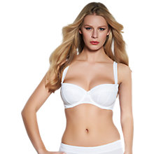 Buy Freya Lauren Underwired Padded Half Cup Bra Online at johnlewis.com