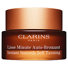 Buy Clarins Instant Smooth Self Tanning, 30ml Online at johnlewis.com
