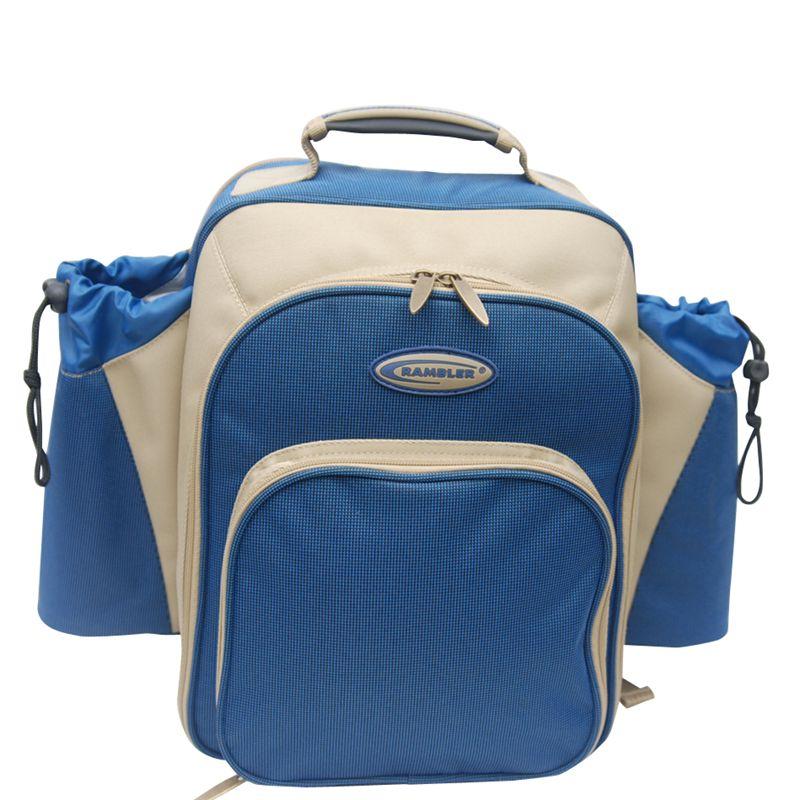 Concept International Contour Picnic Backpack, 2 Person, Blue