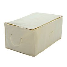 Buy John Lewis Bamboo Oblong Storage Bag Online at johnlewis.com
