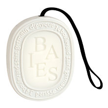Buy Diptyque Baies Scented Oval, 100g Online at johnlewis.com
