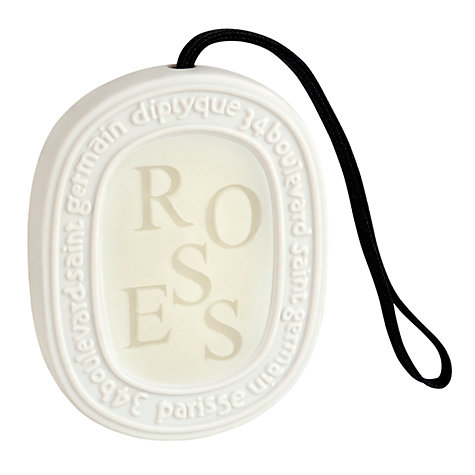 Buy Diptyque Roses Scented Oval, 100g Online at johnlewis.com