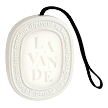 Buy Diptyque Feuille De Lavande Scented Oval, 100g Online at johnlewis.com
